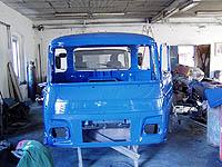 Autoservis nákladních vozů